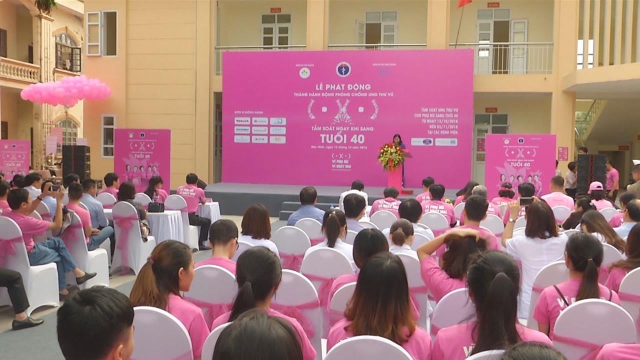 Lễ phát động Chiến dịch khám sàng lọc ung thư vú
