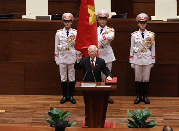 Chủ tịch nước tuyên thệ nhậm chức