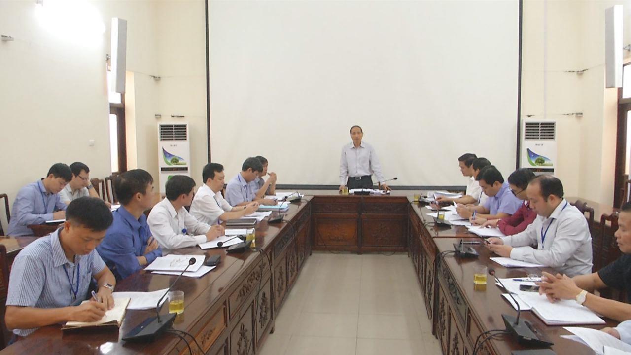 UBND tỉnh đánh giá tình hình thực hiện dự án xử lý chất thải rắn  tại Tiên Du và thị xã Từ Sơn