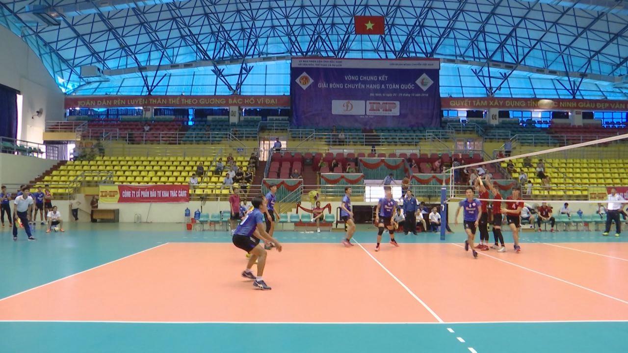 Bắc Ninh tập trung tổ chức thành công giải bóng chuyền hạng A năm 2018