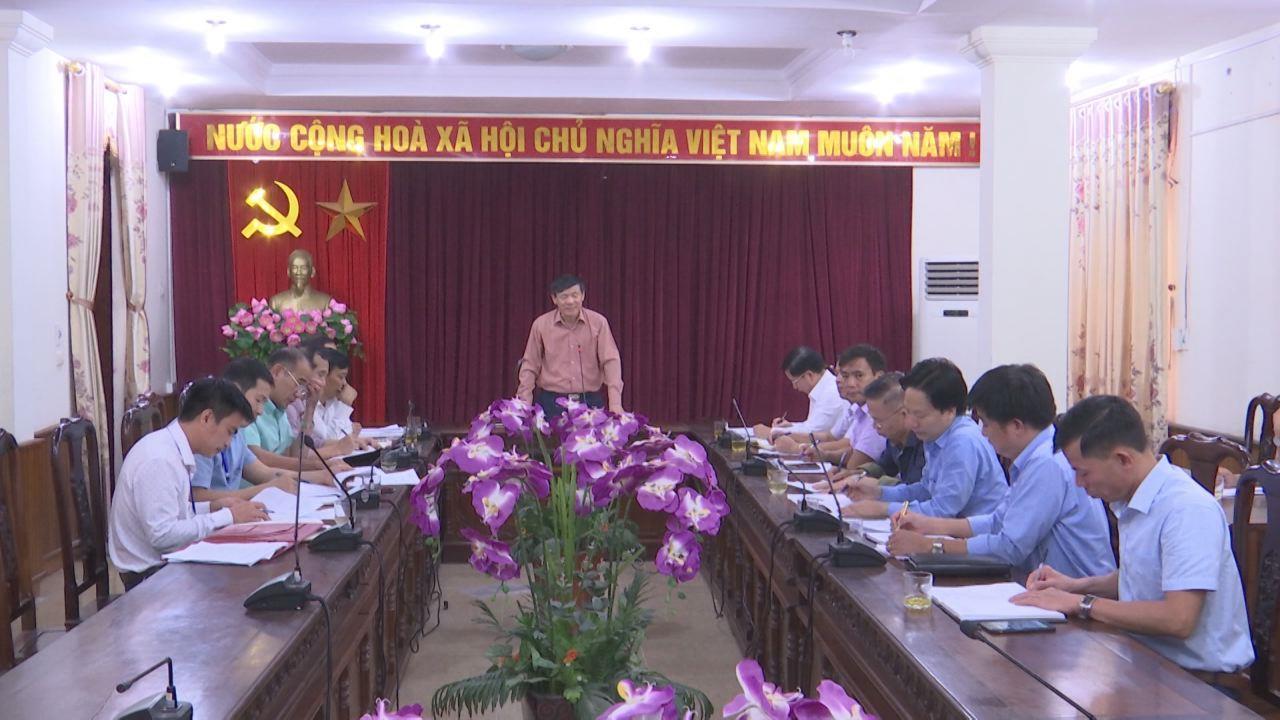 Lãnh đạo UBND tỉnh kiểm tra công tác quản lý chất lượng các công trình xây dựng tại huyện Quế Võ