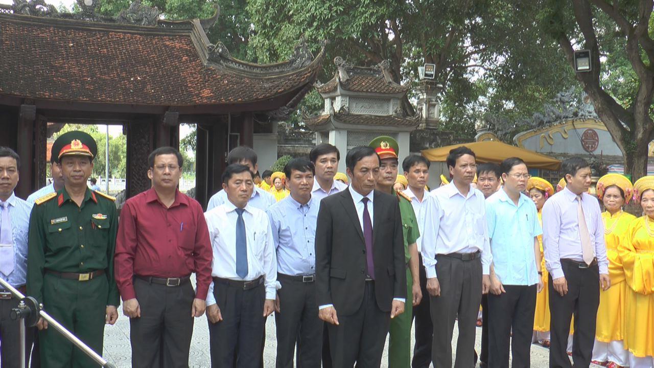 Bắc Ninh dâng hương rước lửa Đại hội TDTT tỉnh lần thứ VIII