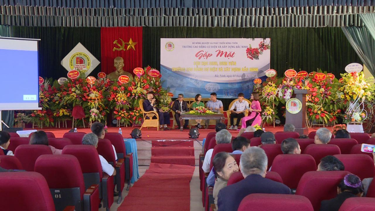 Trường Cao đẳng Cơ điện và Xây dựng Bắc Ninh gặp mặt  học sinh sinh viên qua các thời kỳ