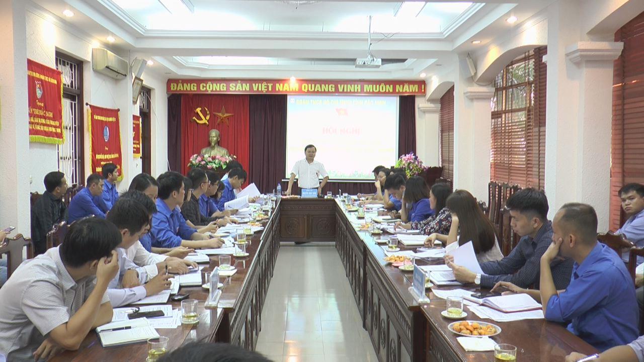 Trung ương Đoàn kiểm tra chuyên đề tại Bắc Ninh