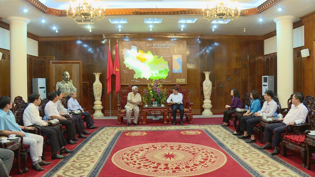 Đồng chí Phạm Thế Duyệt thăm và làm việc tại Bắc Ninh