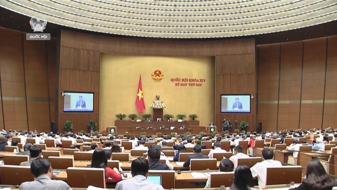 Quốc hội nghe báo cáo công tác giải quyết khiếu nại, tố cáo của công dân