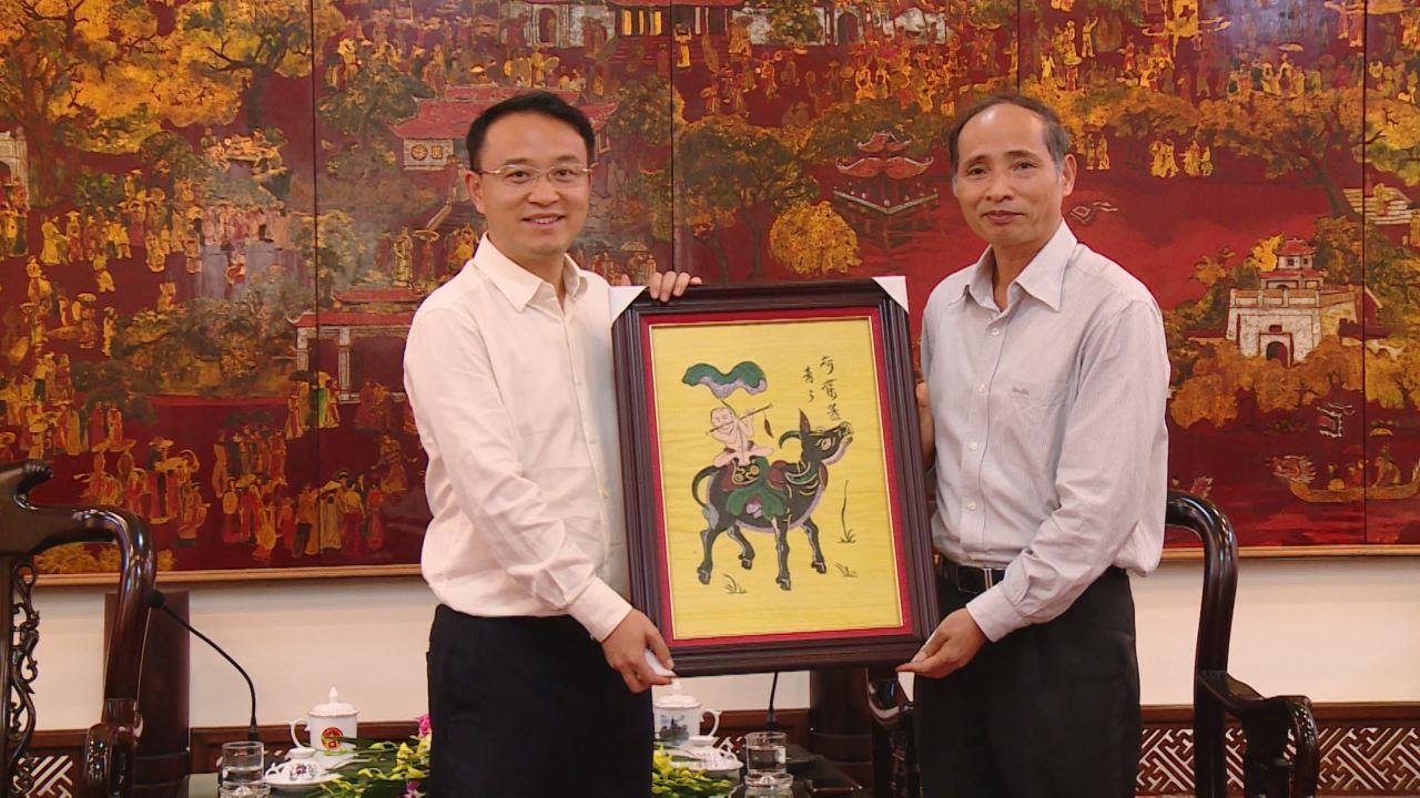 UBND tỉnh tiếp đoàn cán bộ thị xã Bằng Tường, Quảng Tây, Trung Quốc