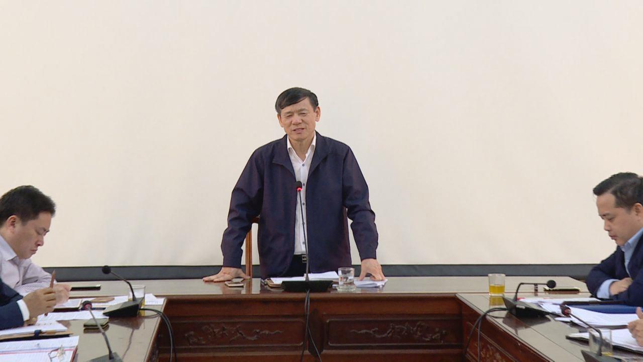 UBND tỉnh làm việc về dự án đường gom Quốc lộ 1 Hà Nội - Bắc Giang