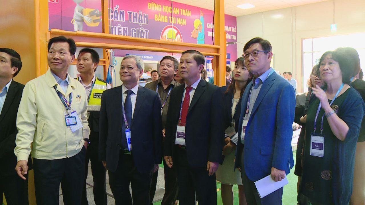Công ty Samsung Việt Nam tổ chức Đại hội cải tiến an toàn môi trường