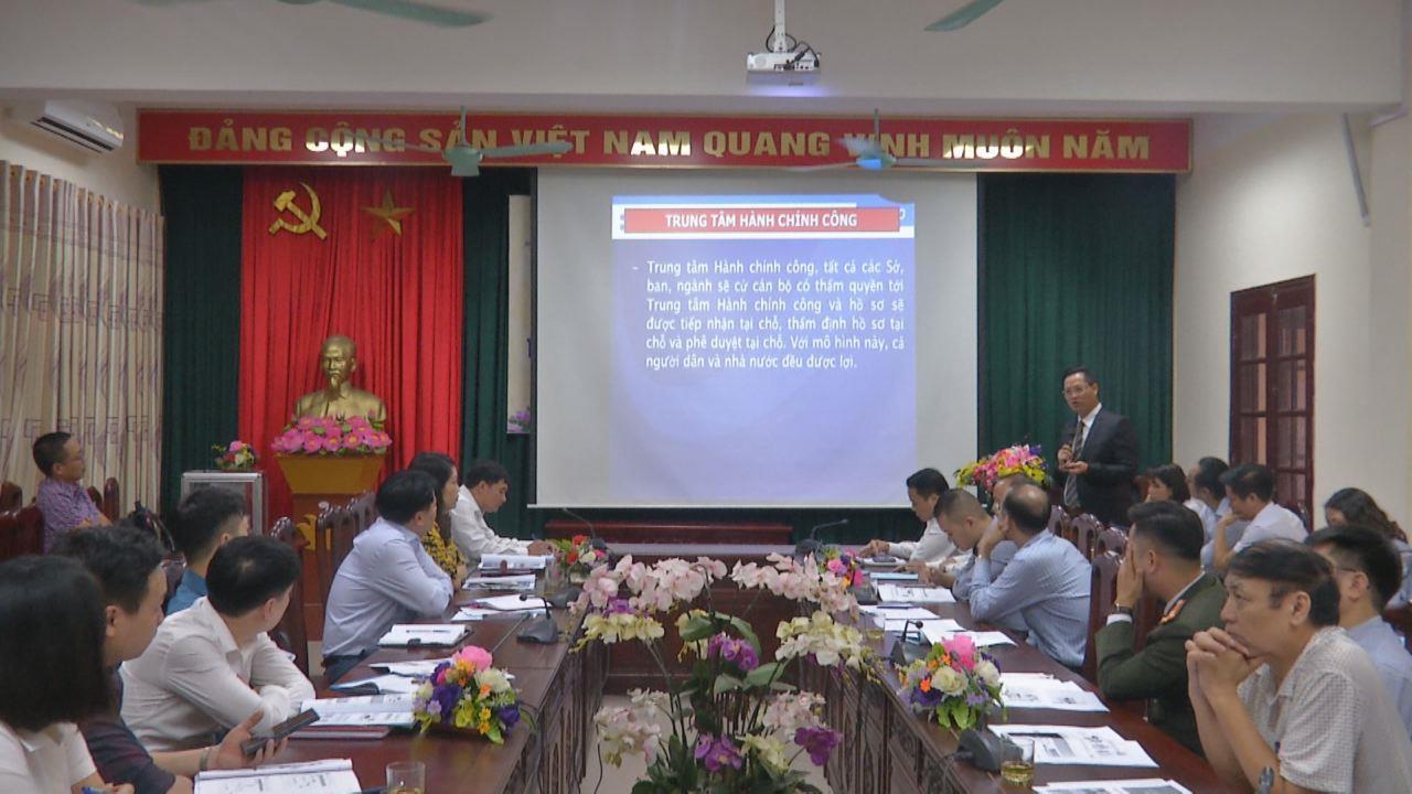 """Hội thảo """"Nâng cao hiệu quả hoạt động của Trung tâm Hành chính công"""""""