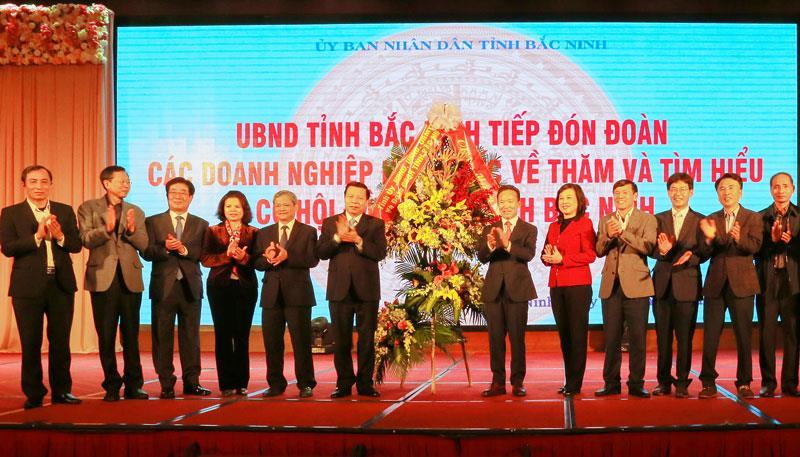 Lãnh đạo tỉnh tiếp 100 doanh nghiệp Hàn Quốc tìm hiểu cơ hội đầu tư tại Bắc Ninh