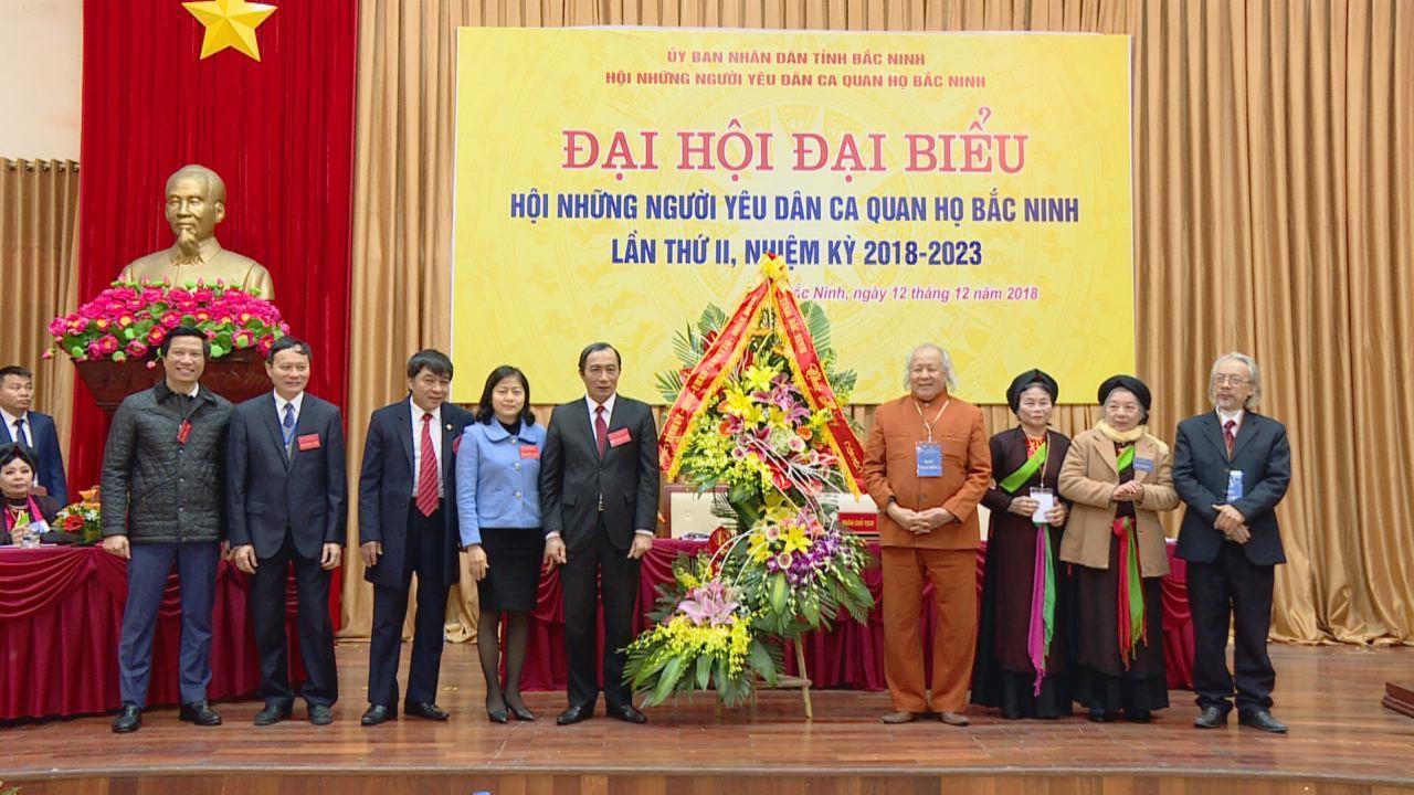 Đại hội lần thứ II – Hội Những người yêu Dân ca Quan họ Bắc Ninh