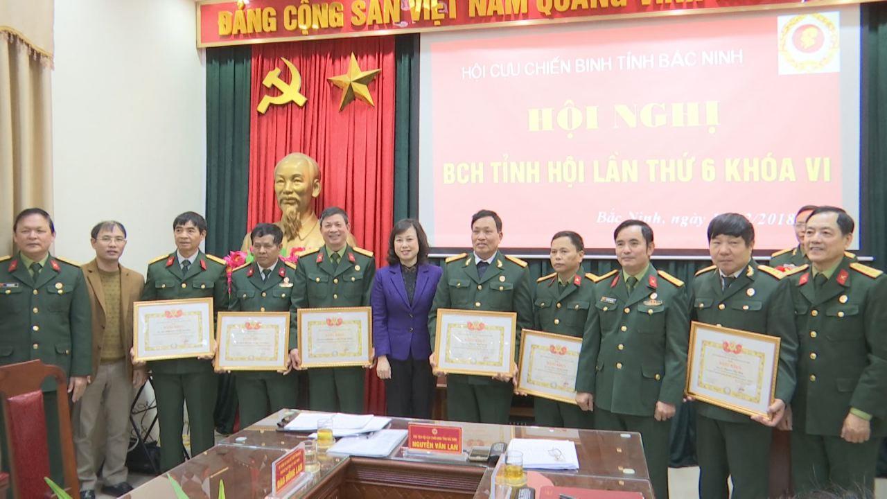 Hội Cựu chiến binh tỉnh triển khai nhiệm vụ 2019