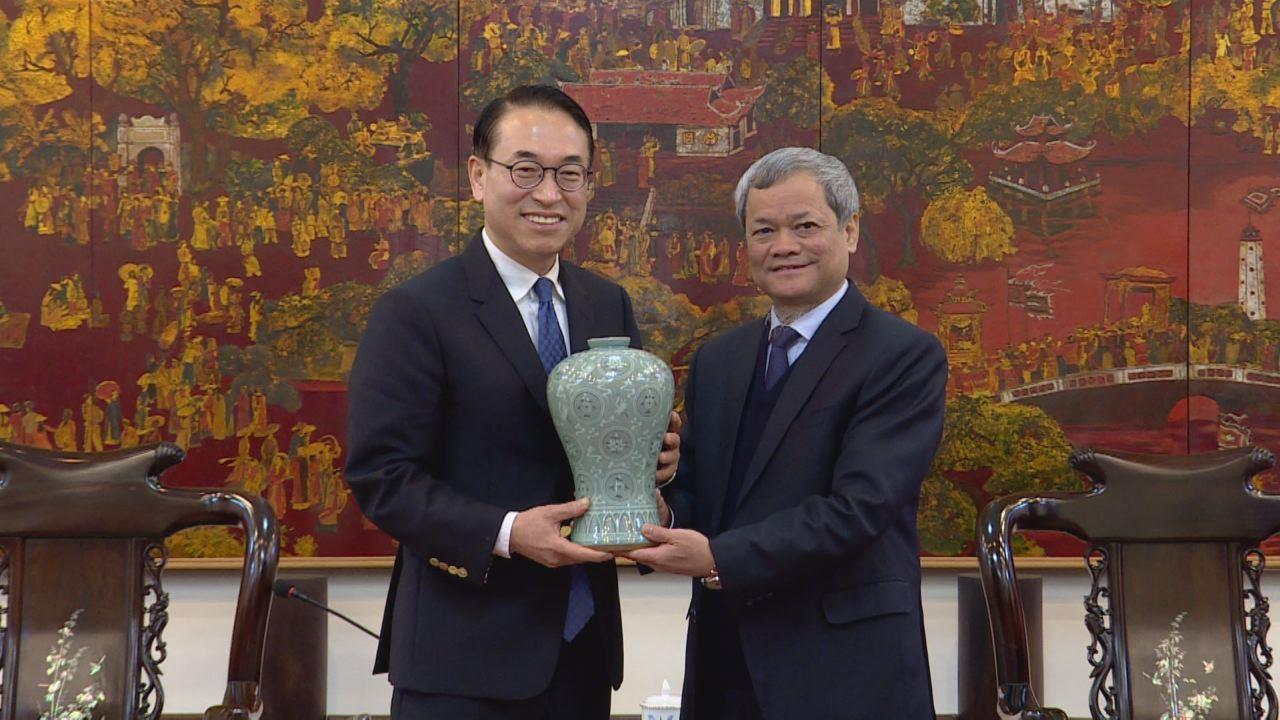 Samsung SDS Hàn Quốc hỗ trợ Bắc Ninh xây dựng thành phố thông minh