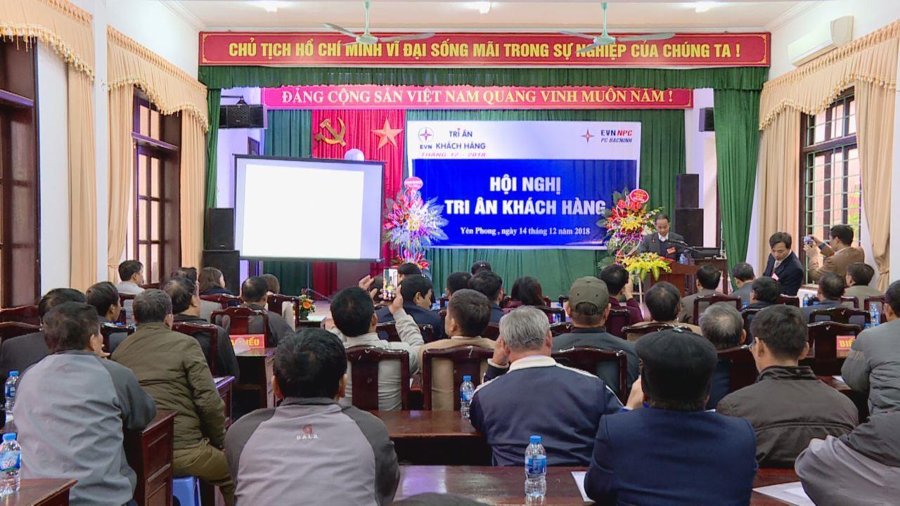Điện lực Bắc Ninh tri ân khách hàng