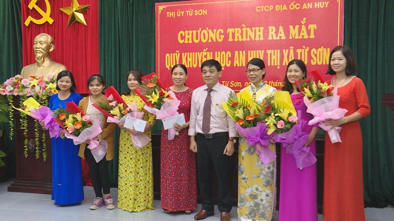 Lễ ra mắt Quỹ Khuyến học An Huy thị xã Từ Sơn