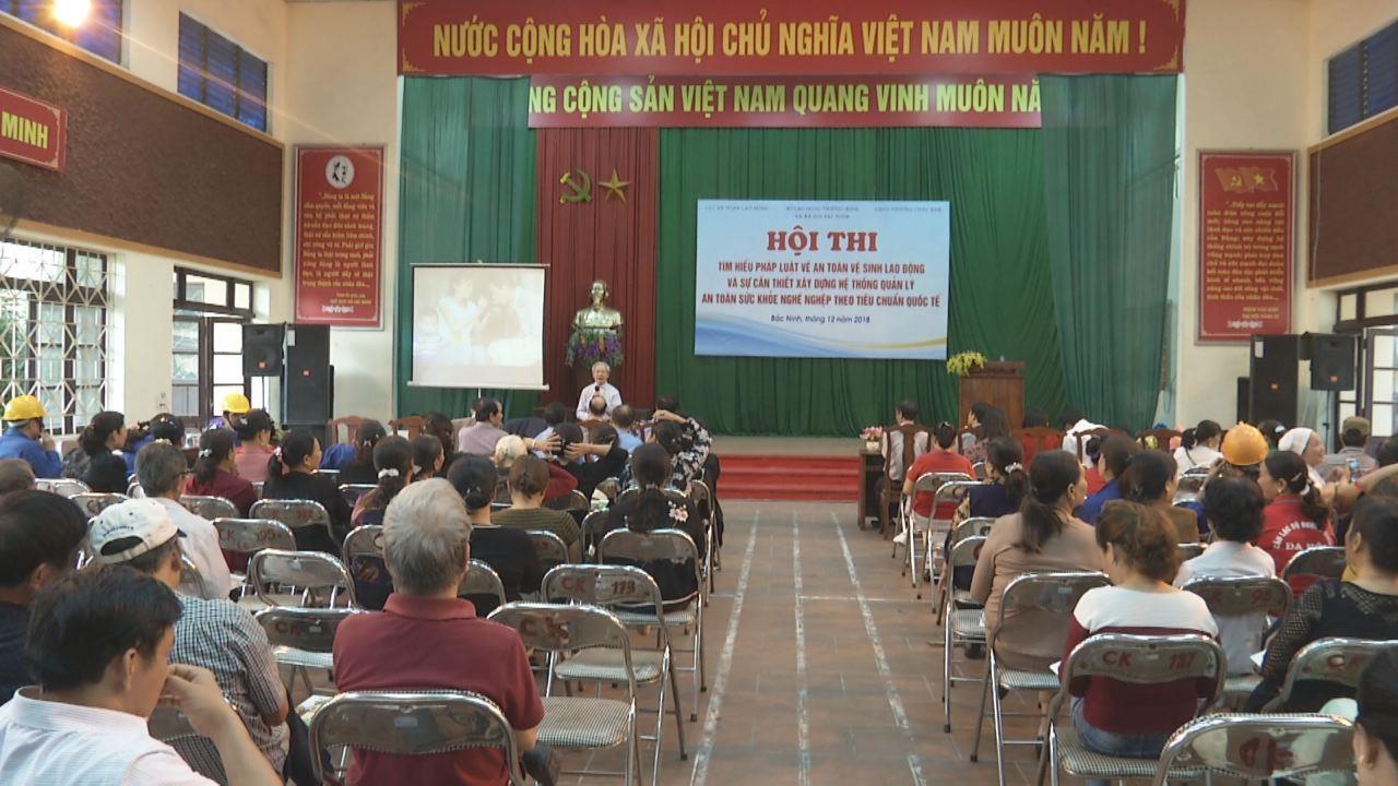 Hội thi tìm hiểu pháp luật an toàn vệ sinh lao động