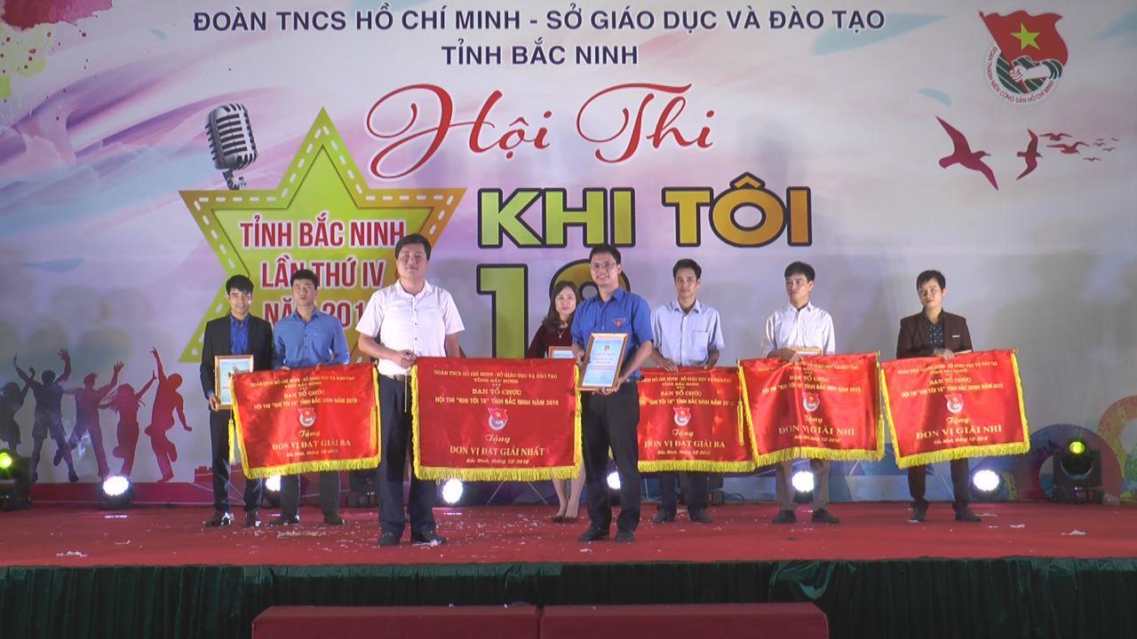 """Hội thi """"Khi tôi 18"""" tỉnh Bắc Ninh lần thứ IV năm 2018"""