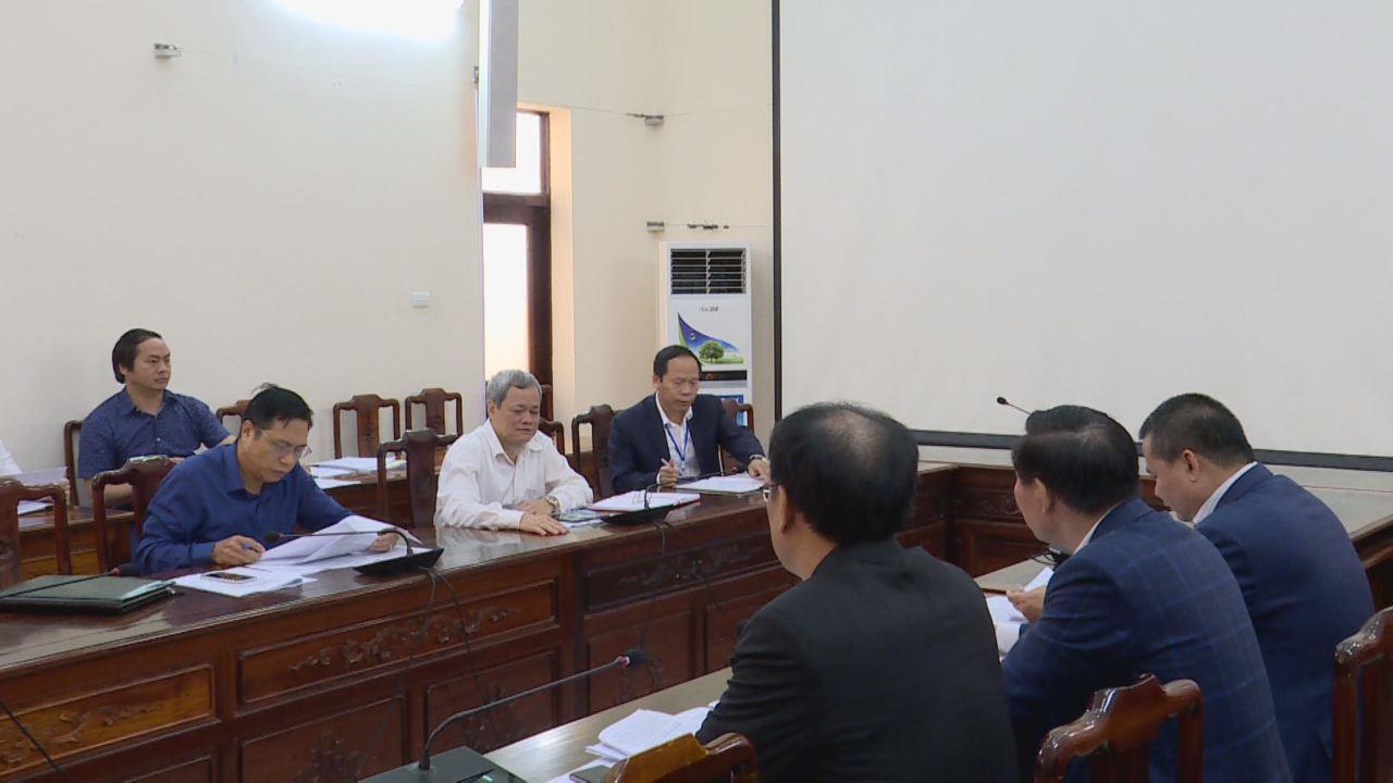 Chủ tịch UBND tỉnh làm việc với các doanh nghiệp nước ngoài