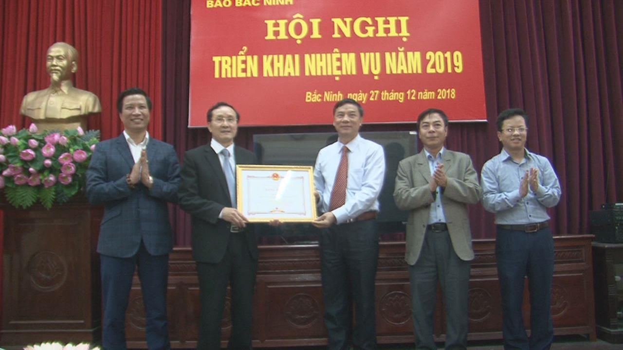 Báo Bắc Ninh triển khai nhiệm vụ năm 2019