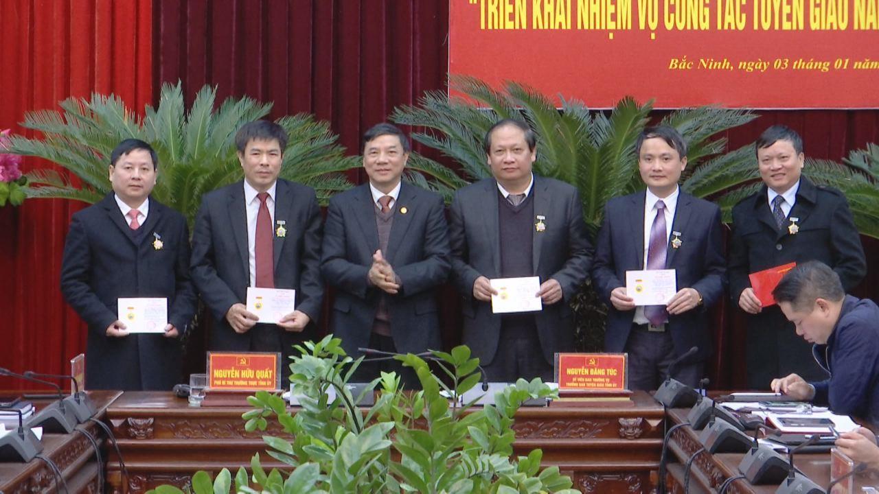 Ban Tuyên giáo Tỉnh ủy triển khai nhiệm vụ năm 2019