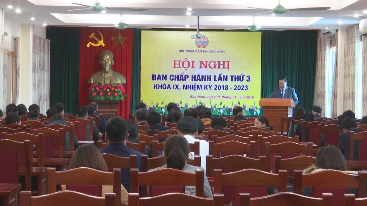 Hội nghị Ban Chấp hành Hội Nông dân tỉnh lần thứ 3, khóa IX mở rộng