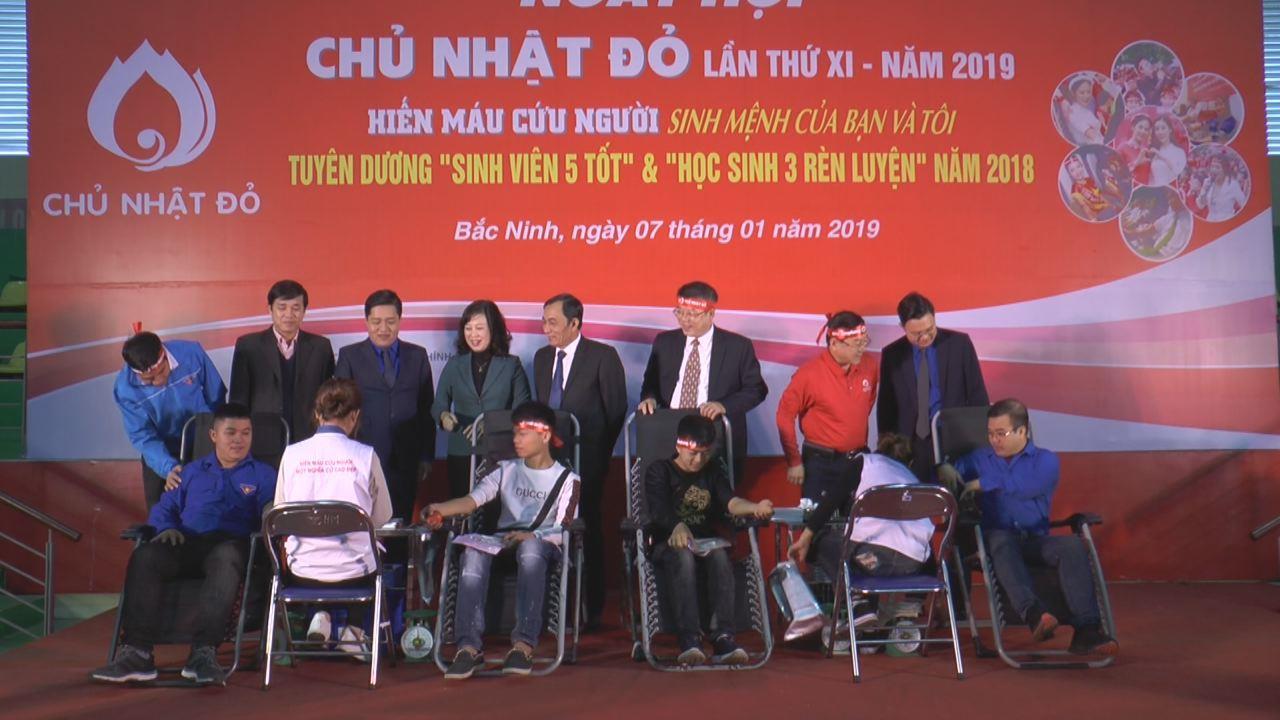 """Ngày """"Chủ nhật Đỏ"""" Bắc Ninh năm 2019"""