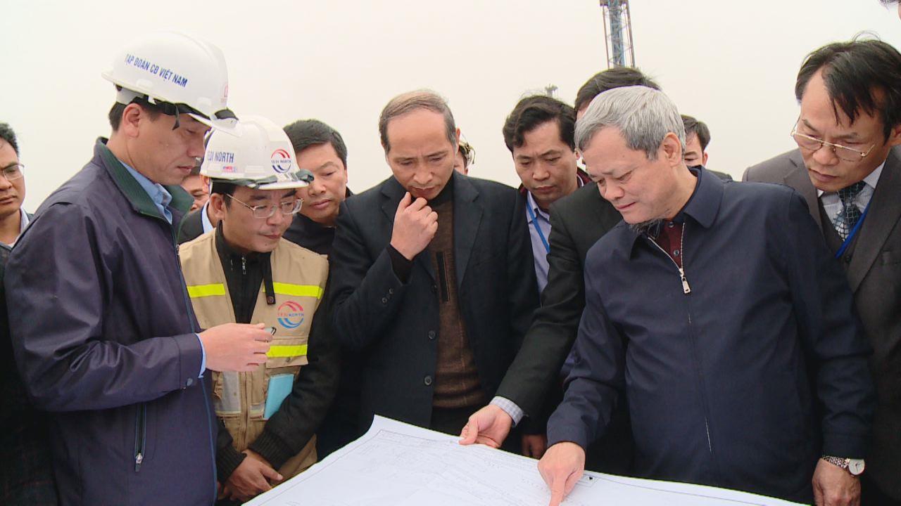 Chủ tịch UBND tỉnh kiểm tra tiến độ thực hiện một số dự án giao thông