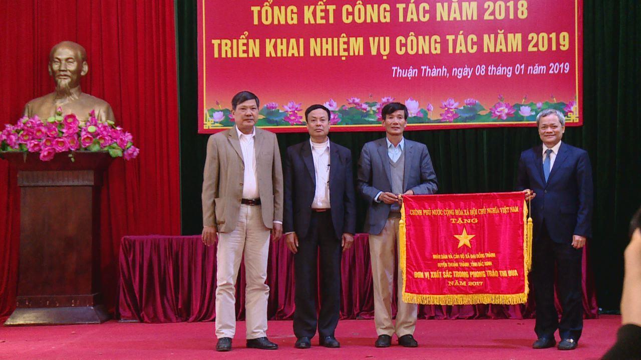 Huyện Thuận Thành triển khai nhiệm vụ năm 2019