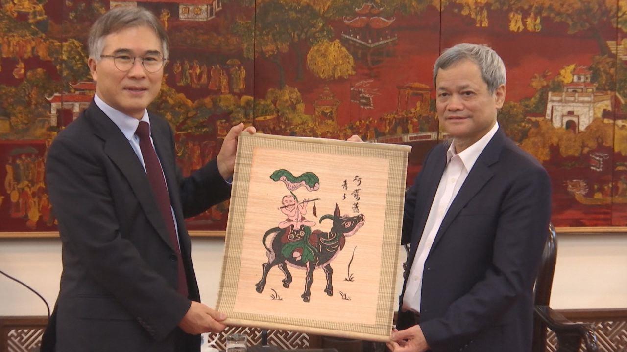Chủ tịch UBND tỉnh tiếp và làm việc với Phó Chủ tịch Tập đoàn KaBul