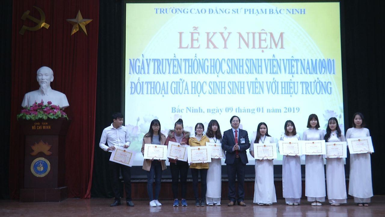 Trường Cao đẳng Sư phạm Bắc Ninh  kỷ niệm ngày truyền thống Học sinh sinh viên