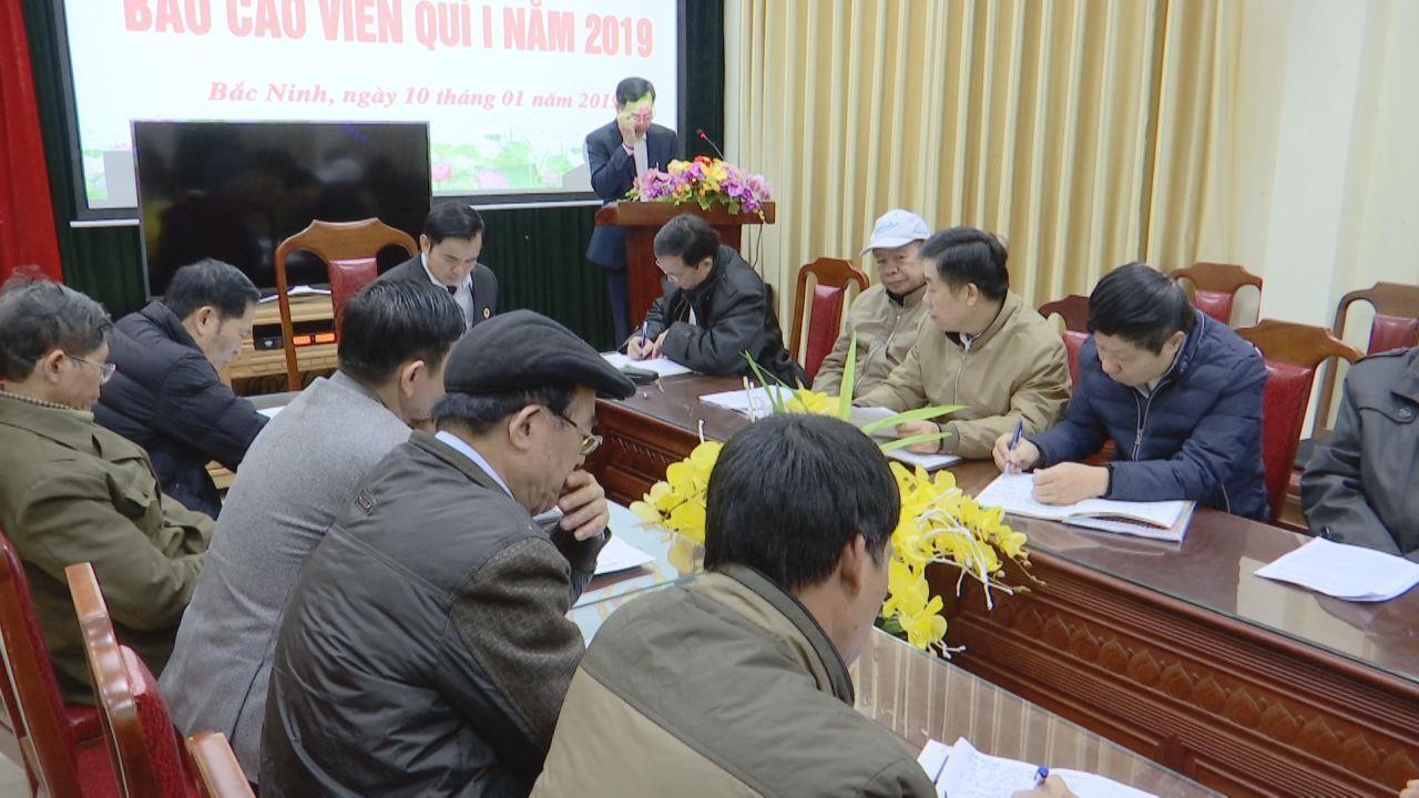 Hội nghị Báo cáo viên Hội Cựu chiến binh tỉnh quý I/2019
