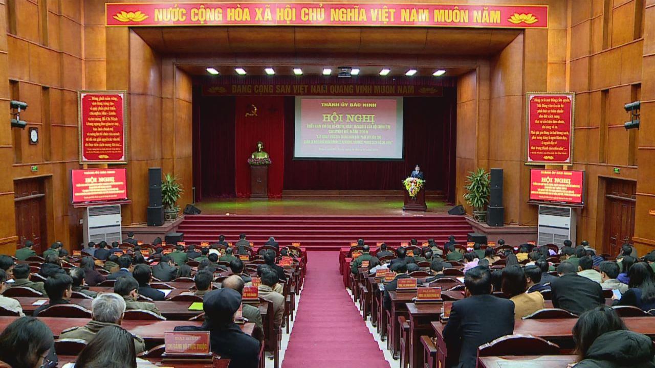 """Thành phố Bắc Ninh triển khai chuyên đề """"Học tập và làm theo tư tưởng, đạo đức, phong cách Hồ Chí Minh năm 2019"""""""