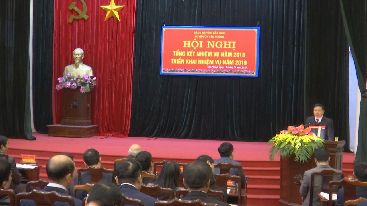 Huyện Yên Phong triển khai nhiệm vụ năm 2019