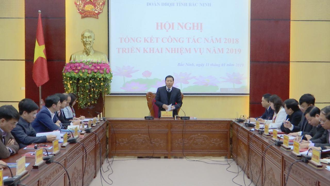 Đoàn đại biểu Quốc hội tỉnh triển khai nhiệm vụ công tác năm 2019