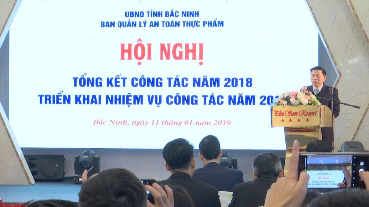 Ban Quản lý an toàn thực phẩm triển khai nhiệm vụ năm 2019