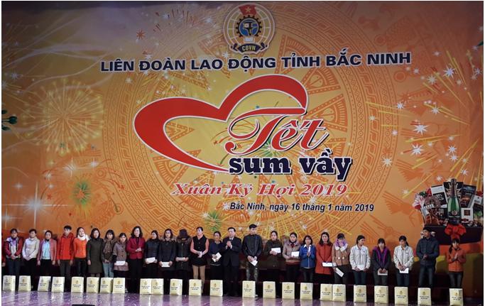 """Liên đoàn Lao động Bắc Ninh tổ chức thành công """"Tết Sum vầy 2019"""""""
