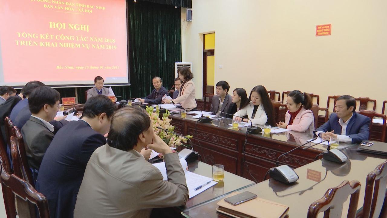 Ban Văn hóa Xã hội, HĐND tỉnh triển khai nhiệm vụ năm 2019