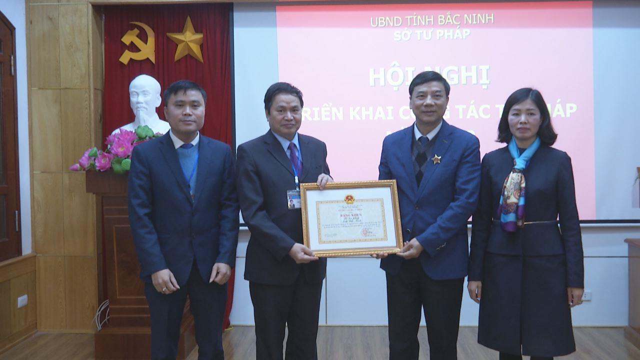 Sở Tư pháp triển khai nhiệm vụ năm 2019