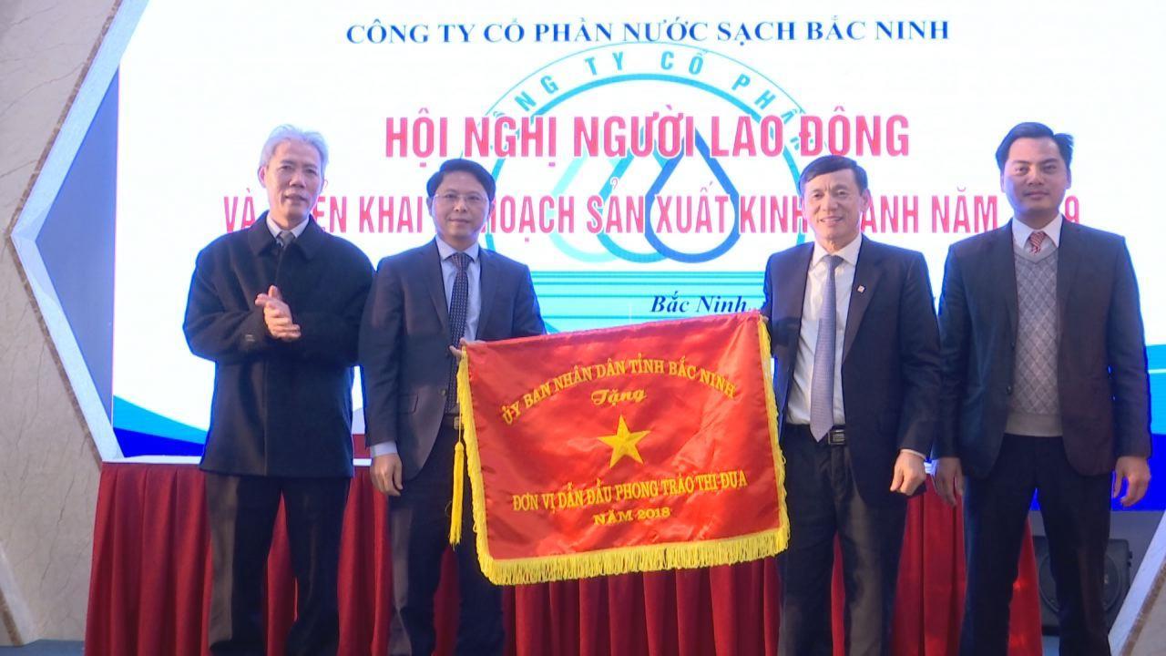 Hội nghị người lao động Công ty Cổ phần nước sạch Bắc Ninh