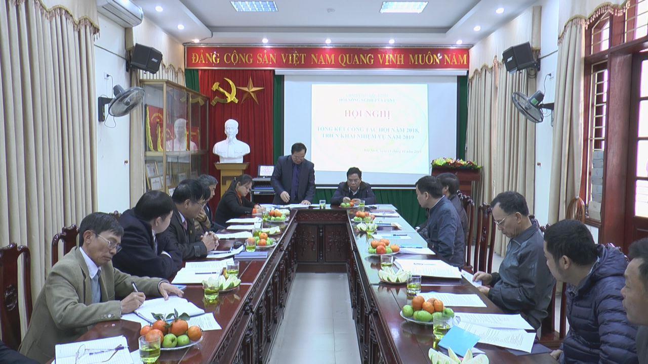 Hội Nông nghiệp và Phát triển nông thôn tỉnh triển khai nhiệm vụ 2019