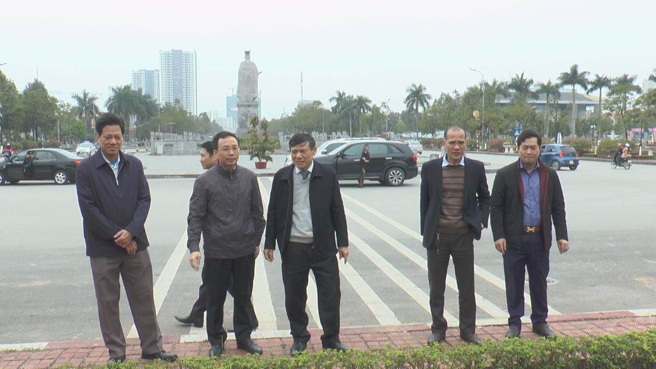 Phó Chủ tịch Thường trực UBND tỉnh Nguyễn Tiến Nhường làm việc với thành phố Bắc Ninh về công tác chỉnh trang đô thị
