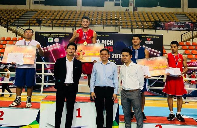 Thể thao Bắc Ninh giành giải Nhất toàn đoàn tại Giải vô địch Boxing toàn quốc 2019