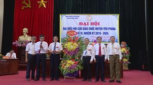 Đại hội đại biểu Hội Cựu giáo chức huyện Yên Phong  lần thứ IV, nhiệm kỳ 2019-2024