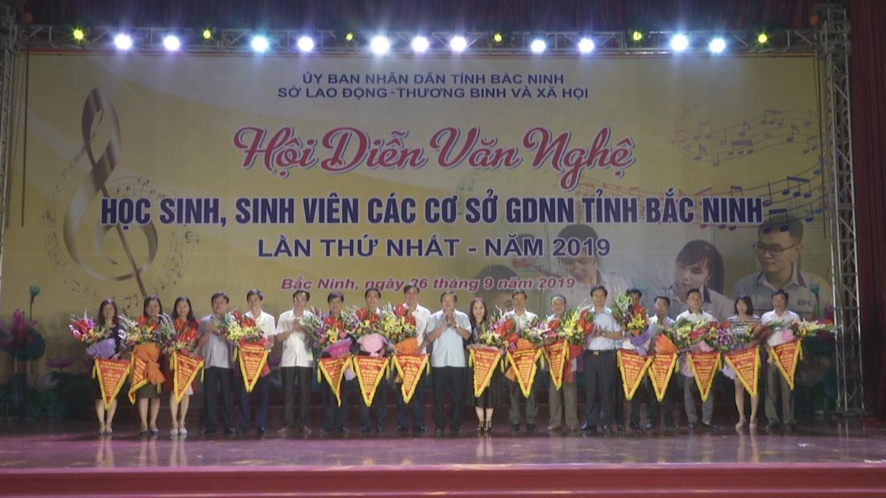 Hội diễn văn nghệ học sinh, sinh viên các cơ sở giáo dục nghề nghiệp tỉnh Bắc Ninh lần thứ I