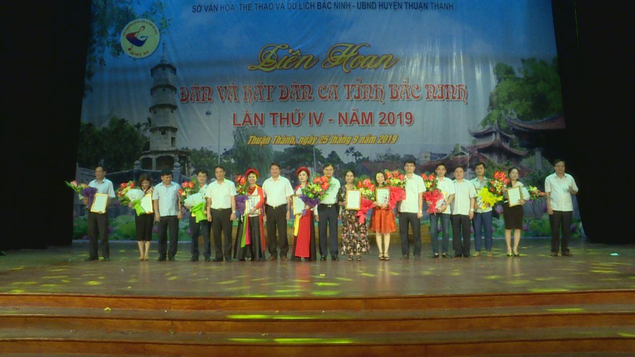 Bế mạc Liên hoan đàn và hát dân ca tỉnh Bắc Ninh lần thứ IV
