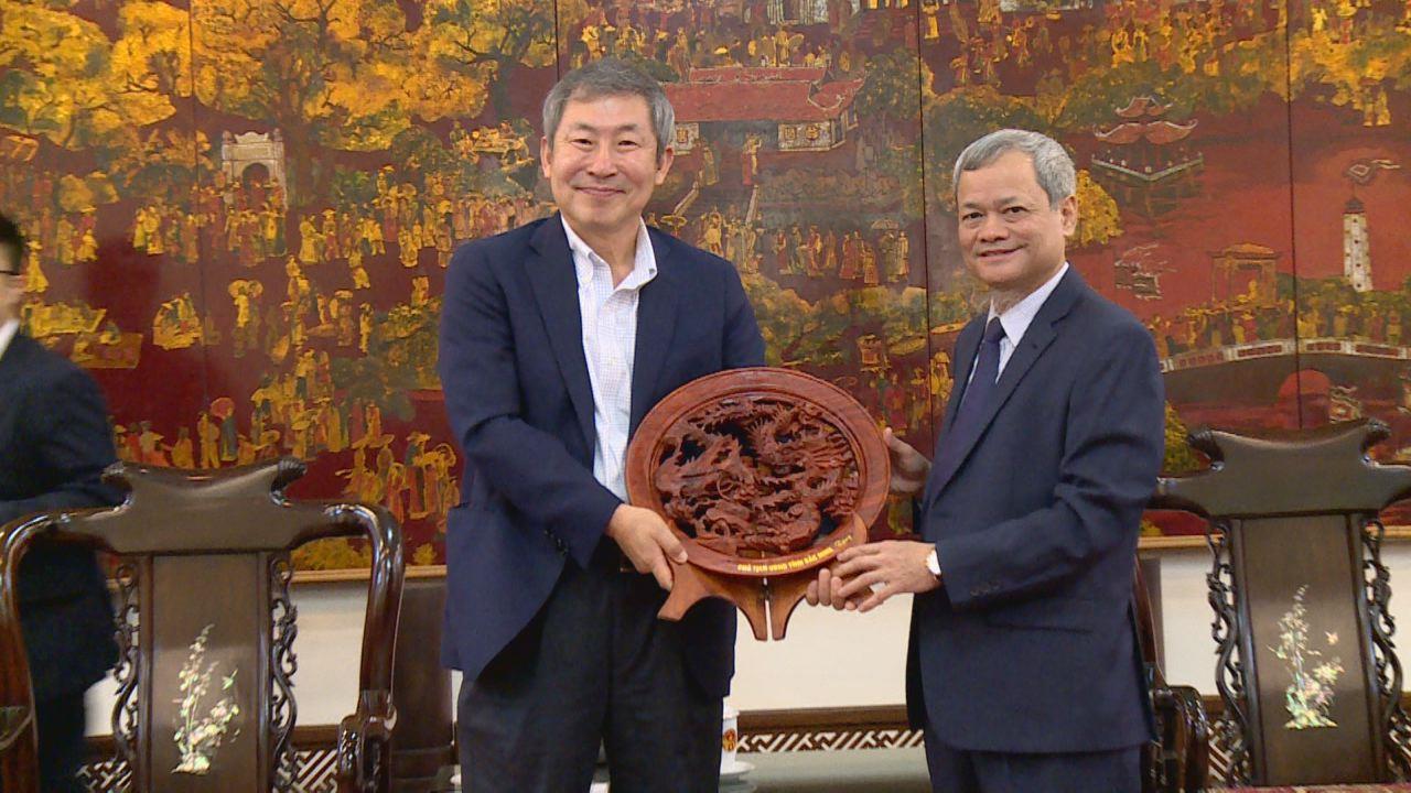 Chủ tịch UBND tỉnh tiếp đoàn đến từ Hàn Quốc