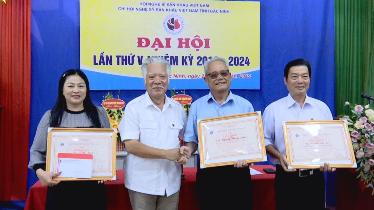 Đại hội Chi hội Nghệ sỹ sân khấu tỉnh Bắc Ninh nhiệm kỳ 2019 – 2024
