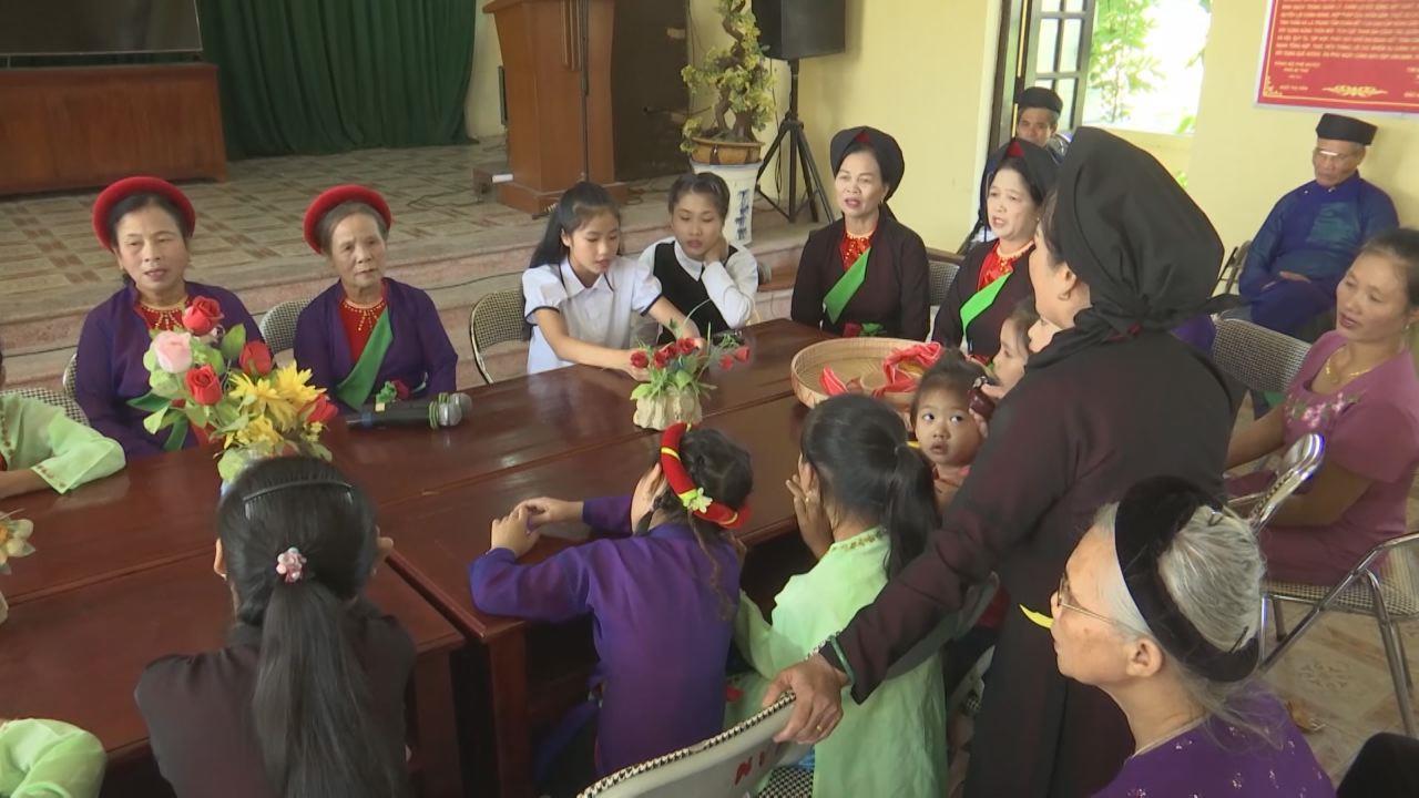 Bắc Ninh phát triển đa dạng các CLB Quan họ