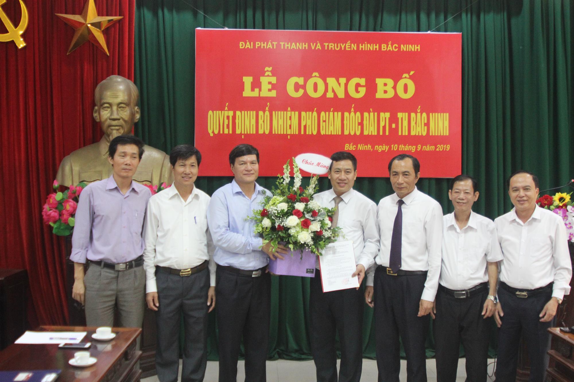 Công bố Quyết định bổ nhiệm Phó Giám đốc phụ trách Đài PT&TH Bắc Ninh